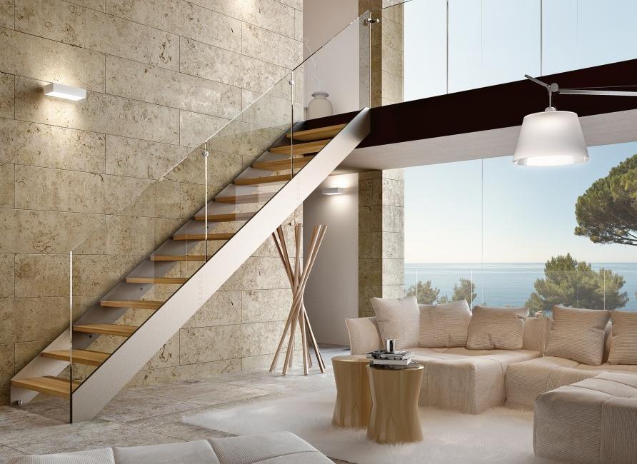 Escalier sur mesures charolles conception et pose - Escalier d interieur design ...