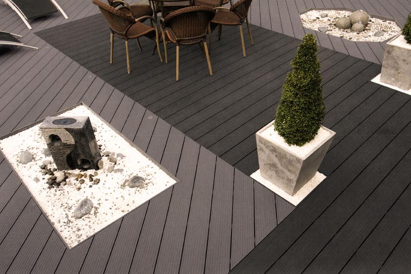 Pose de parquet cr ation de terrasse bois ou composite charolles - Faire une terrasse en composite ...